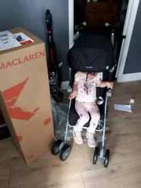 Maclaren stroller used for 1 week holiday in ex condition