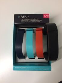 Set of 4 Fitbit Flex Accessory Wristbands NEW
