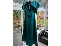 Womens Coast prom/ballgown/bridesmaid dress. Size 14. Never worn. Includes Bolero
