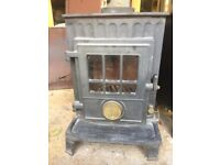 Small 2-5kw Woodburner with Flue