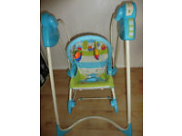 Fisher Price 3in1 baby swing and rocker