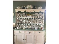 cream and cream dresser solid pine