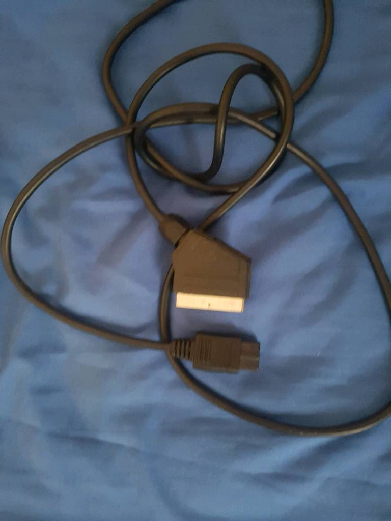 Gamecube rgb scart cable | in Whitfield, Kent | Gumtree