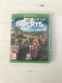 Far cry 5 Xbox one as new