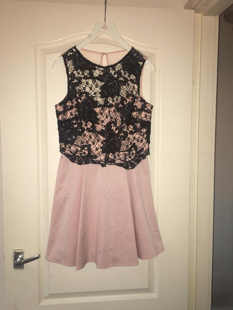 Lipsy short pink and black dressin Norris Green, MerseysideGumtree - Never been worn lipsy pink and black dress. Original price is £68