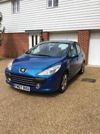 Peugeot 307 1.6 16v S 5dr 2007 NEW MOT EXPIRES MAR 2019
