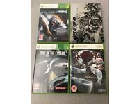 METAL GEAR SOLID REVENGEANCE, ZONE OF THE ENDERS & BAYONETTA XBOX 360 GAMES