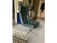 Vintage Midcentury Desk Lounge Chair 50's Artifort