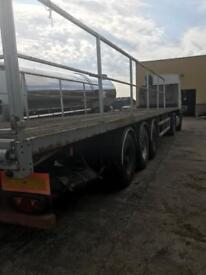 45 feet flat trailer