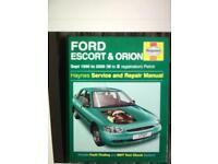 Brand new ford Haynes manual £5 call north Bristol mobile 07852 750932
