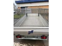 Euro light Ifor Williams 12 x 5 caged trailer