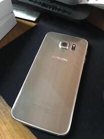 Samsung galaxy S6 32gb Unlocked Gold Platinum.