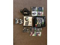 Xbox 360 250GB Halo Reach Edition Good condition with games and headset