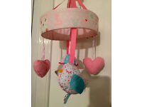 Little Lane Baby Musical Mobile for Cradle or Cot. £25 from Mothercare. Excellent Condition, As New