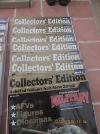 collectors edition military modelling magazines