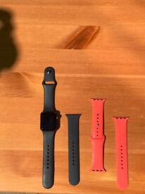 Apple Watch Series 3 38mm (GPS) Aluminium Black