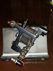 Tattoo Machines Ccustom made by Dino Cassarin Italy Liner & Shader