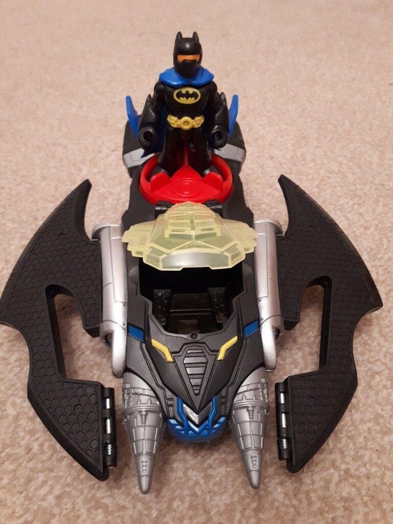 Imaginext Bat Plane