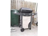 Gas BBQ by Homebase. Trolley Type on Wheels.