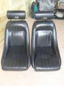 TR6 Bucket Seats