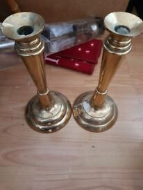 Candle sticks brass