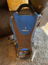 LittleLife Ranger child carrier blue