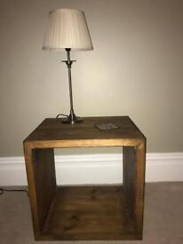 Solid wood storage unit/coffee table