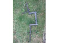 Dave Cooper tow bar Motorbike rack (Junior/up to 85cc/pit bike/scooter)
