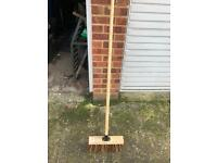 Yard brush