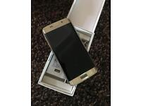 Samsung galaxy S6 Edge 32gb Unlocked Gold like new
