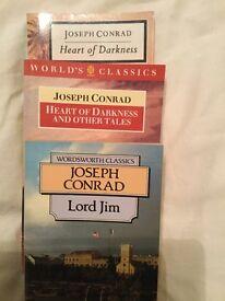 Joseph Conrad books