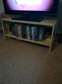 Simple functional TV stand