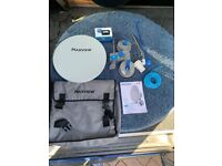 Maxview Remora 40 Suction Mounted Portable Solid Satellite TV Dish Kit for Caravan, Motorhome etc