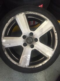 Audi 18 inch Alloy Wheels 5x112 great for VW T4 Vito