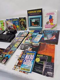 ZX Spectrum+ Plus With Manuals, Literature, Joystick Interface, 19 Casette/Games Some boxed!