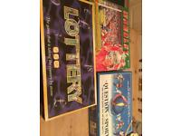Board games x 3 toys