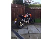 2011 KTM Duke 125, very low miles, Well maintained,serviced,Aftermarket parts