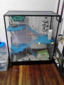Savic 3 Zeno Empire rat cage - brilliant condition