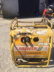 Beaver jcb hydraulic power pack