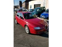 STUNNING LOW MILEAGE ALFA 147 12 MONTHS MOT ADVISORIES DONE