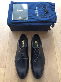 Loake 1880 Naylor Black Leather Shoes Mens Size 8.5 G Fit BNIB RRP £215, Price £125 ONO