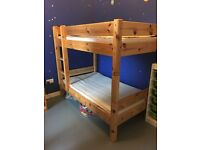 Children's bunk bed wooden