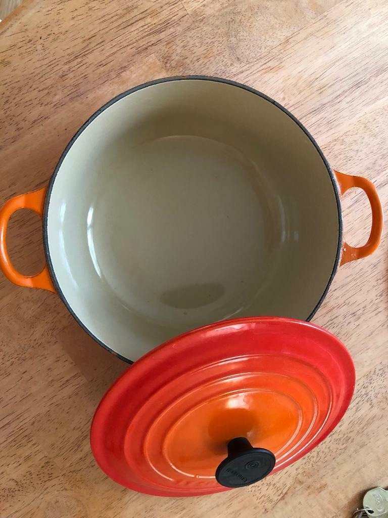 Nearly new Le Creuset Casserole Dish