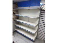 RETAIL SHOP SHELVING SHELF BAYS - COLLECTION ONLY 20+ BAYS!