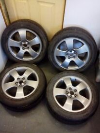 Audi alloy whells