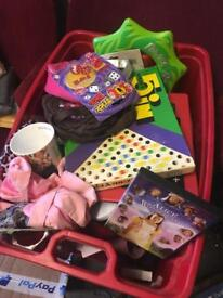 free Box full of assorted items