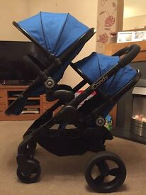 Candy Peach 3 Blossom Tandem / double system push chair - Colbolt