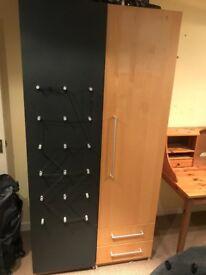 Two door funky wardrobe