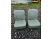 morris minor parts - two front seats