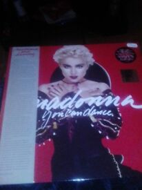 """Madonna you can dance 12"""" Red vinyl record store day 2018"""